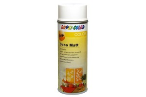 Acryl spray, deco matt, 400 ml., white, 192821