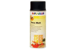 Acryl spray, deco matt, 400 ml., black