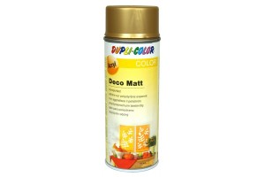 Acryl spray, deco matt, 400 ml., gold, 193200