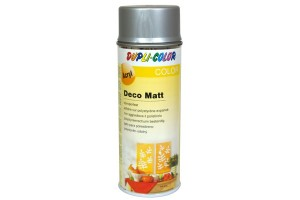 Acryl spray, deco matt, 400 ml., silver, 193224