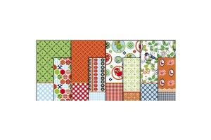 Decoupage Paper - Assortment, sheet 25x35 cm, Skagen, 8 pcs., CR25595