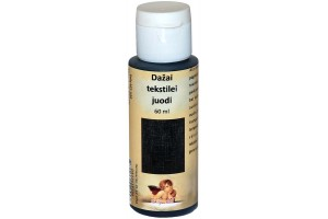 Paint for textile 60 ml. (black)
