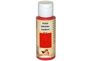 Paint for textile 60 ml. (red)