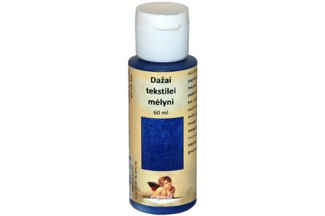 Paint for textile 60 ml. (blue)