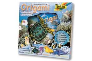 """Origami - rankdarbių rinkinys """"vandens gyvūnai"""" F91104"""
