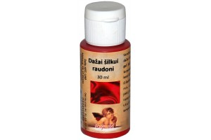 Paint for silk 30 ml. (red)