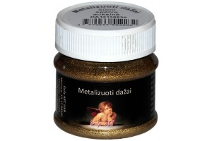 Paint metalized 50 ml. (Gold)