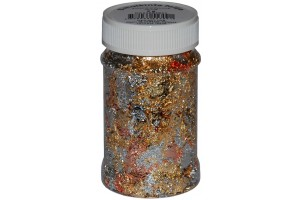 Crushed foil (gold-silver-copper) 100 ml.