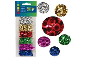 Confettino's mix, assorted colours, 6mm., V1619-905