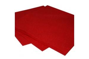 Felt, 20x30 cm., 1 mm., hot  red,  V10420-020