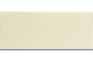 "Ivory ribbon ""grosgrain"", 6 mm., 1 metre, 00818"