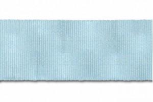 "Žydra  juostelė, ""grosgrain"", 6 mm., 1 metras, 00820"