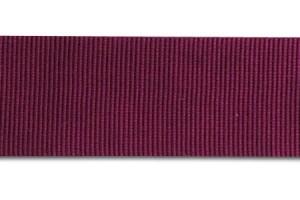 "Wine red  ribbon ""grosgrain"", 6 mm.,1 metre, 00829"