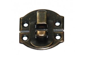 Lock 2x2,1 cm. antique golden 1724