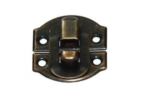 Spynelė, 2,7x3,2 cm.,  antikinis auksas, CR58000