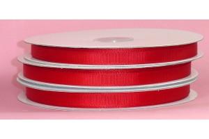 """Raudona juostelė, """"grosgrain"""", 9 mm., 1 metras, 00848"""