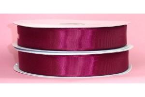 "Red wine ribbon ""grosgrain"", 9 mm., 1 metre,  00853"