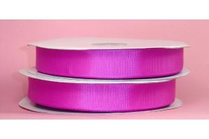 """Ryški rožinė juostelė, """"grosgrain"""", 9 mm., 1 metras, 00860"""