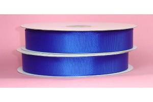 "Royall blue ribbon ""grosgrain"", 9 mm., 1 metre,  00863"