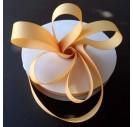 "Caramel  ribbon ""grosgrain"", 9 mm., 1 metre, 010233"