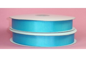 "Turqouse ribbon ""grosgrain"", 16 mm., 1 metre, 00886"