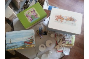 Courses - Decoupage christian box