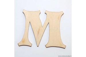 Raidė M (3 cm)