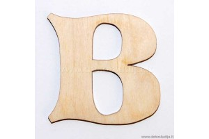 Letter B (3 cm)