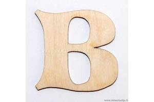Medinė raidė B (3 cm)