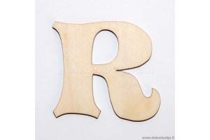 Raidė R (3 cm)