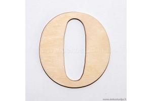Skaičius 0 (3 cm)