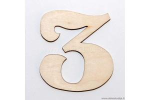 Skaičius 3 (3 cm)