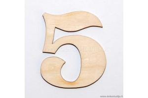 Skaičius 5 (3 cm)