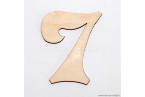 Skaičius 7 (3 cm)