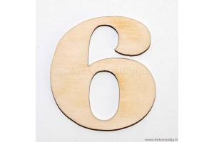 Skaičius 6 (3 cm)