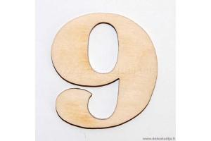 Skaičius 9 (3 cm)