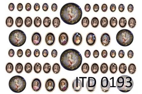 Popierius dekupažui ITD A4 (210x297 mm.) M-0191
