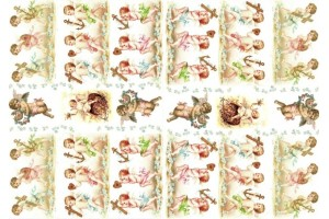 Paper for decoupage ITD ITD A4 (210x297 mm.) M-0206
