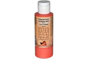 Dvikomponentis sendinimo lakas Nr.2 spalva (oranžinė) 120 ml.