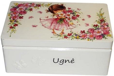 Prisiminimų dėžutė 32x21x13,5 cm.