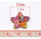 Saga žvaigždutė 18x17mm., 8SB12745