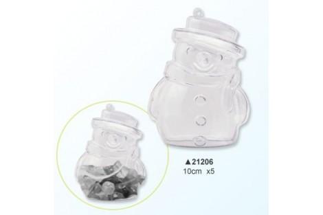 Plastikinis senis besmegenis, 10 cm., V21206