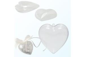 Plastikinė širdelė10 cm.