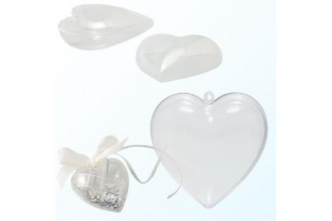 Plastikinė širdelė KB08