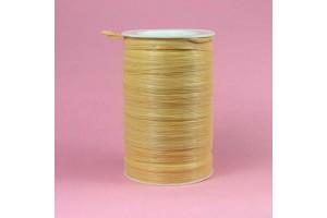 Raffia ribbon 6 mm. old gold