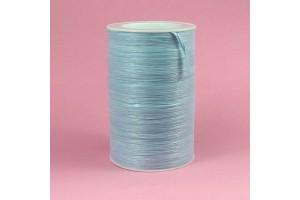 Rafija juostelė, 6 mm., pastelinė žydra spalva 1 m.