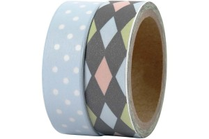 Washi tape Bremen 15 mm., 2x5 m.