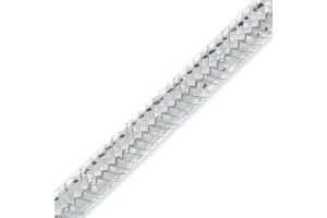 Soutache ribbon silver 3 metre
