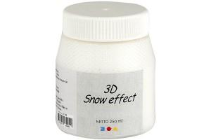 Snow paste 3 D 250 ml.