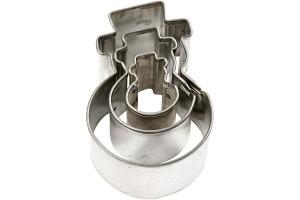 Formelės modelinui, besmegeniai, 40 mm. 3 vnt.